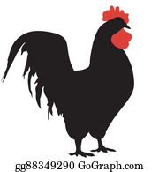 Spurs - Silhouette Of A Rooster