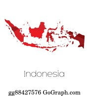 Indonesia - Map Of The Country Of Indonesia