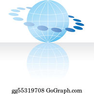 Globe concept icon web internet