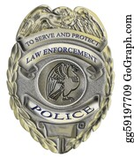 law enforcement police badge