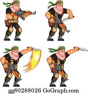 Militia Animation Sprite