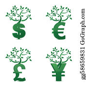 Money tree or investment growth