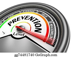 prevention health conceptual meter indicate maximum