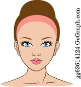 woman face for spa, health, beauty