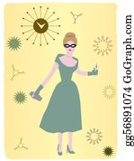 50S Clip Art - Royalty Free - GoGraph