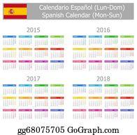 Calendario M.Calendario Clip Art Royalty Free Gograph