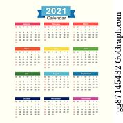 Year 2021 Clip Art - Royalty Free - GoGraph