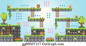 Tileset Clip Art - Royalty Free - GoGraph