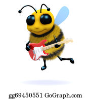 Music Bee Stock Illustrations – 410 Music Bee Stock Illustrations, Vectors  & Clipart - Dreamstime