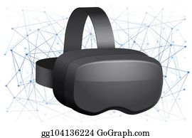 Royalty Free Vr Headset Clip Art - GoGraph