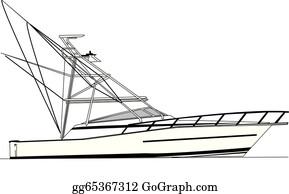 Sport Fishing Boat Clip Art Royalty Free Gograph