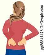 Low Back Pain Clip Art Royalty Free Gograph
