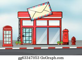 COD1029-Lovely post office clipartpost office clipartCommercial useClipart SetVector ClipartINSTANT DOWNLOAD