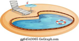 Pool party swimming in a pool clipart clipart | Clip art, Free vector  clipart, Vector clipart