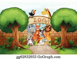 Zoo Clip Art Royalty Free Gograph