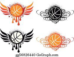 Basketball Clip Art - Royalty Free - GoGraph