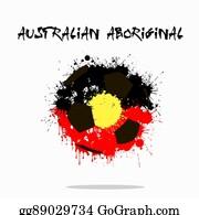 Australian Aboriginal Flag Clip Art Royalty Free Gograph