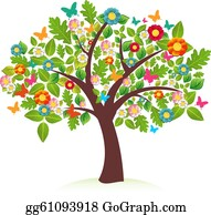 Spring Tree Clip Art Royalty Free Gograph