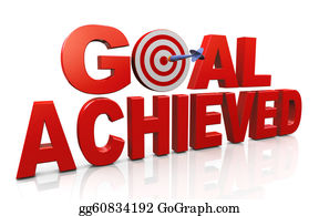Concept Of Goal Achievement Achieving Goals And Targets