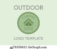 Campground Clip Art - Royalty Free - GoGraph