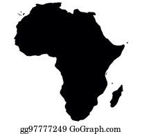 Map Of Africa Art.Africa Map Clip Art Royalty Free Gograph