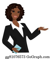 African American Business Women Clip Art Royalty Free