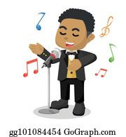 singing male clip art - singer clip art PNG image with transparent  background | TOPpng