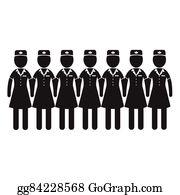 8534a4a3f4489 Air Hostess Stewardess icon Illustration design