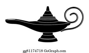 Aladdin Lamp Clip Art Royalty Free Gograph