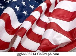 American Flag Background Stock Photos - GoGraph