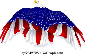 Clipart Images: Patriotic Flag Eagle Clip Art Pictures | Clip art pictures,  Patriotic flag, Clip art