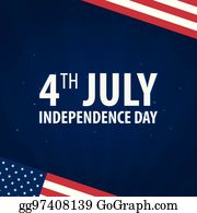 clip art vector american independence day 4th july template
