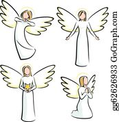 Christmas Angels Images Clip Art.Christmas Angel Clip Art Royalty Free Gograph