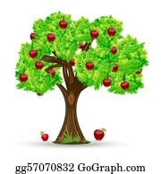 Apple Tree Clip Art Royalty Free Gograph