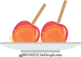 Caramel Apple Clip Art Royalty Free Gograph