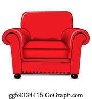 Wondrous Armchair Clip Art Royalty Free Gograph Home Interior And Landscaping Ologienasavecom
