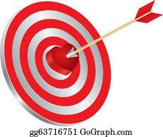 Vector illustration darts on heart shape bullseye illustration arrow on target heart bullseye illustration altavistaventures Image collections