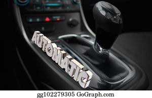 Automatic Transmission Stock Illustrations - Royalty Free