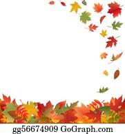 Fallen Leaves Clip Art