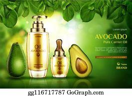 Avocado Tree Clip Art - Royalty Free - GoGraph