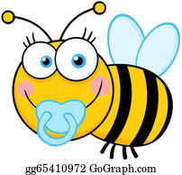 Abelhinha Elemento Bumble Bee Clipart, Bee Design, - Baby Bee Clipart - Png  Download - Full Size Clipart (#25119) - PinClipart