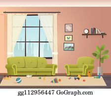 Messy House Clip Art Royalty Free Gograph