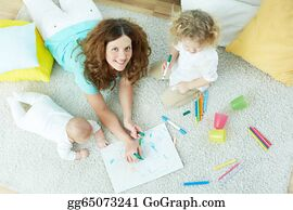 Babysitter Stock Photos - GoGraph