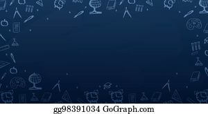 Vector Art Back To School Background Education Banner Vector Illustration Eps Clipart Gg98398457 Gograph