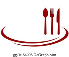 Clipart of a Red and Green Restaurant Cafe or Diner Logo - Royalty Free  Vector Clipart by Vector Tradition SM #1151006