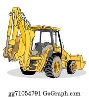 Backhoe Clipart 19 Backhoe Jpg Library Download Huge - Back Hoe Clip Art -  Png Download (#12937) - PinClipart