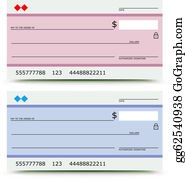 Blank check stock vector. Illustration of dollar, economy - 35833221