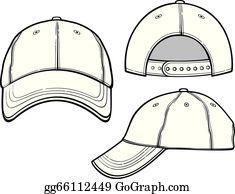107922a132cafc Baseball Hat Clip Art - Royalty Free - GoGraph