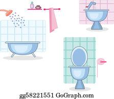 Bathroom Clip Art Royalty Free Gograph