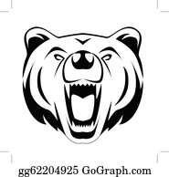Grizzly Bear Clip Art Royalty Free Gograph